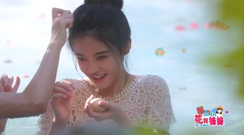 花樣妹妹SNH48雲南省熱海温泉c