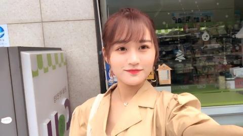 SNH48張昕vlog韓國c