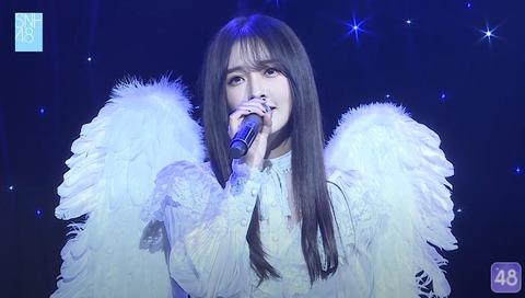 SNH487周年公演黄恩茹