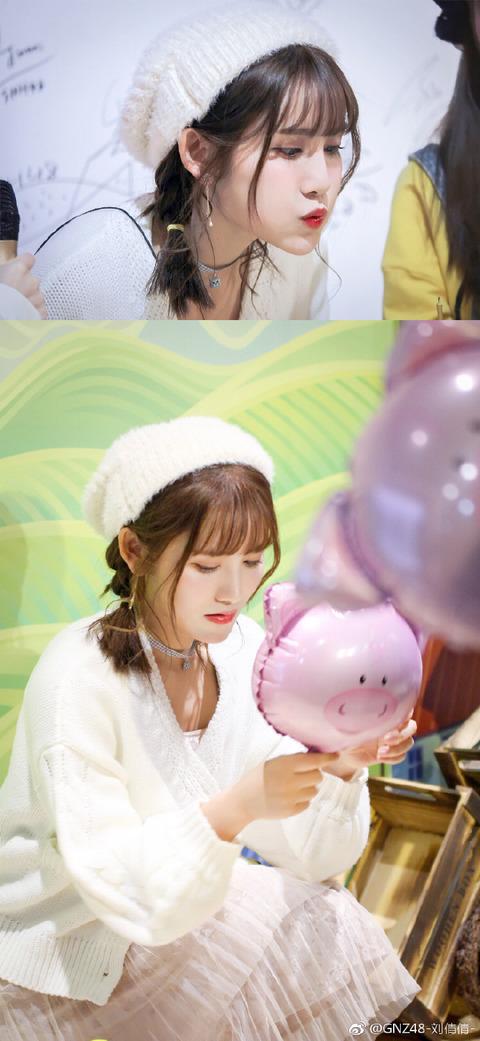 GNZ48劉倩倩weibo171217b