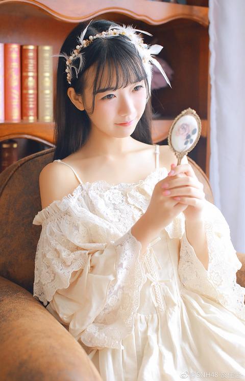 SNH48於佳怡weibo171018b
