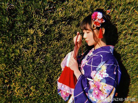 GNZ48鄭丹妮weibo171202