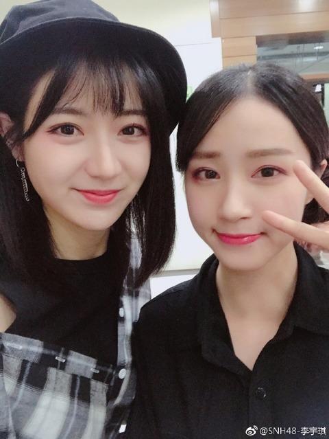 SNH48李宇琪weibo171208b