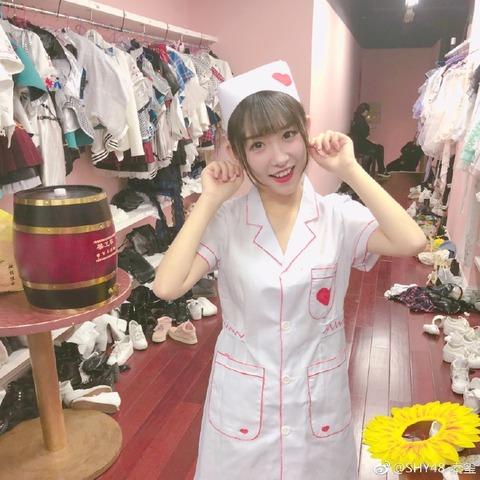 SHY48李慧weibo171116c