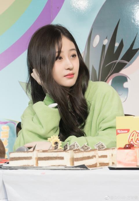 SHY48方詩涵weibo171217
