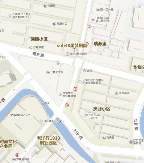 SNH48偶像指南map