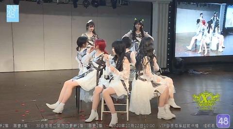 SNH48椅子取りゲーム