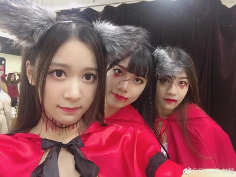 SNH48林楠weibo171031