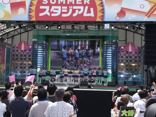 【朗報】チーム8 お台場フェスにて新曲 「 生きることに熱狂を 」を披露 & パラスポーツ応援隊に就任!