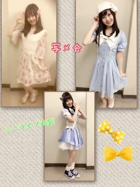 SKE4石川咲姫「AiiAさんの撮影をしました!大矢真那さんと、谷真理佳さんが話しかけてくれました!」