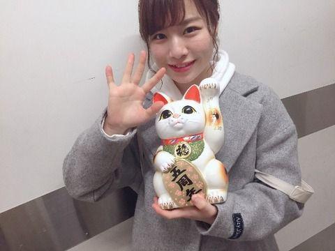SKE48青木詩織「私は今年も総選挙に立候補したいと思います。去年ランクインできず・・・」