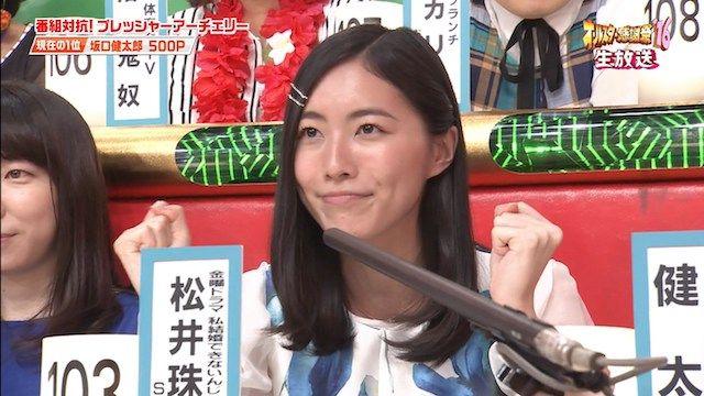 【動画】松井珠理奈と森脇健児がオールスター感謝祭で会話した内容wwwwwww