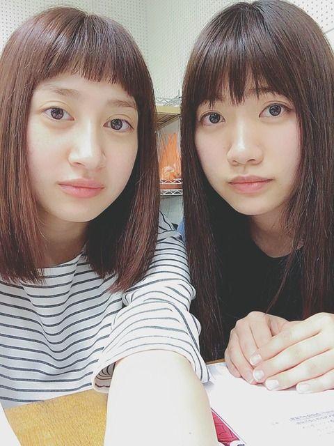 元AKB48中塚智実と元SKE48小林亜実が似すぎwwwwwwwwwww