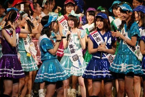 【AKB48総選挙】今年は100位~81位発表ってないのかな?