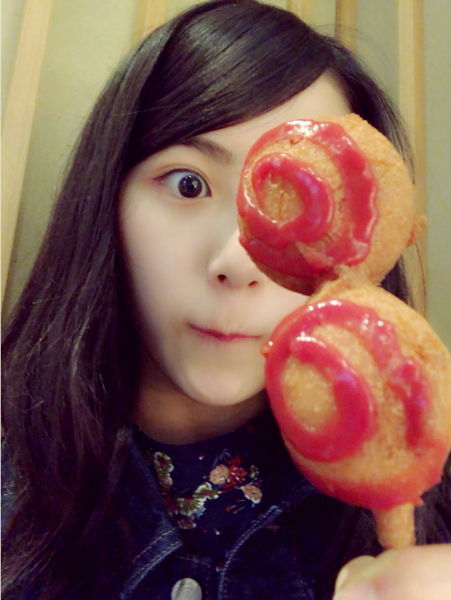 SKE48菅原茉椰「『三又ノ番組』の収録をしてきた時に仙台名物を食べてきました(^q^) 」