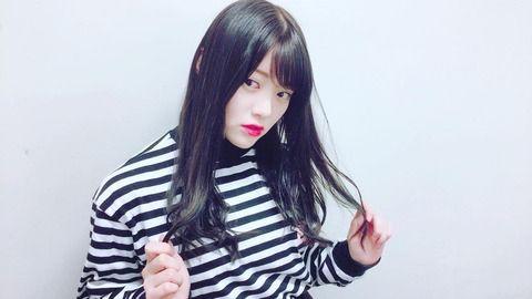 SKE48木本花音の髪の毛暗くなりました
