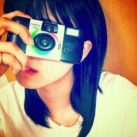 SKE48高寺沙菜が写ルンですを始める!