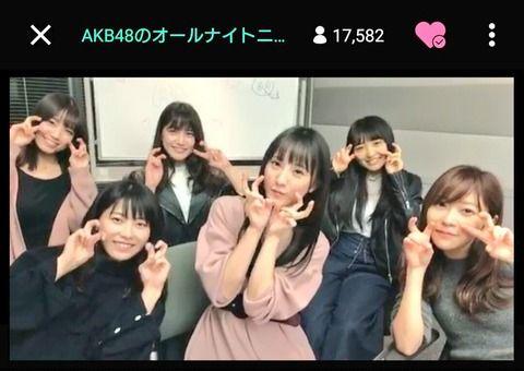 【ANN】「今後のAKB48について討論します!」→討論せずにひたすら下ネタ