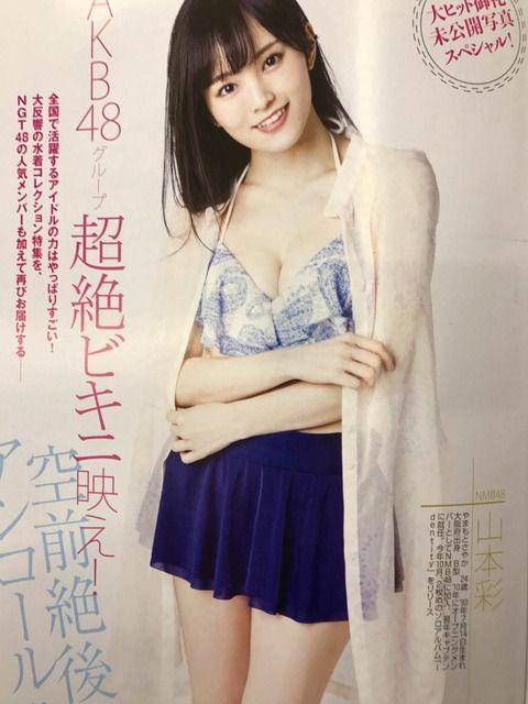 【悲報】AKB48選抜メンバーの水着グラビアに全くやる気が感じられない