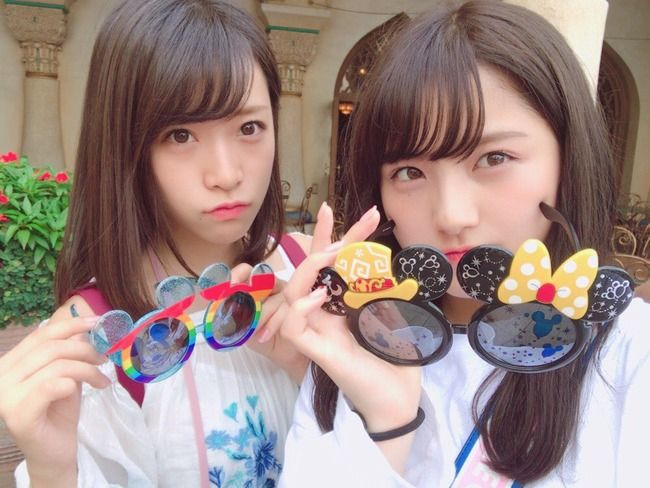 【AKB48】なーにゃと愛美がディズニーへ!笑いすぎて鳥肌が止まらなかった模様!(画像あり)【大和田南那/市川愛美】