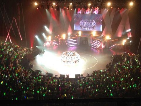 【AKB48G】今までのコンサートで良かった会場と悪かった会場