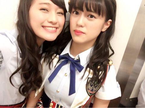 SKE48犬塚あさなにしか見せない竹内彩姫の表情wwwwwwww