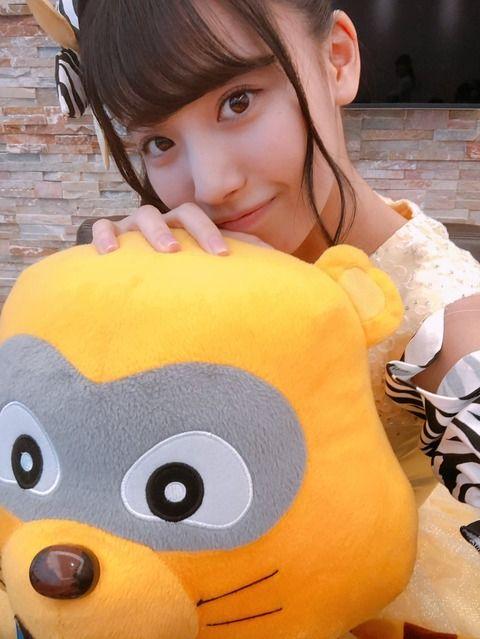 SKE48荒井優希「本物のたぬ吉に会えたんです 思っているより大きめでした」