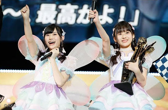 [動画] AKB48じゃんけん大会、「笑わないアイドル」が優勝(時事通信社)