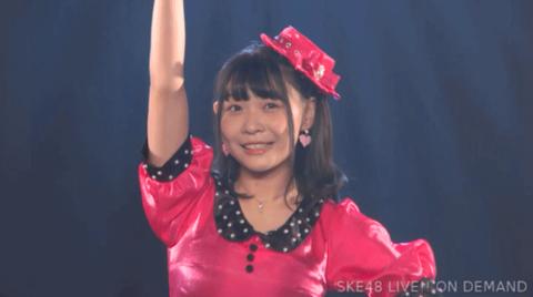 SKE48浅井裕華の衣装が大変なことに・・・