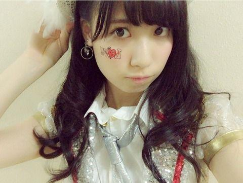 SKE48荒井優希「私の尊敬する人*\(^o^)/*」