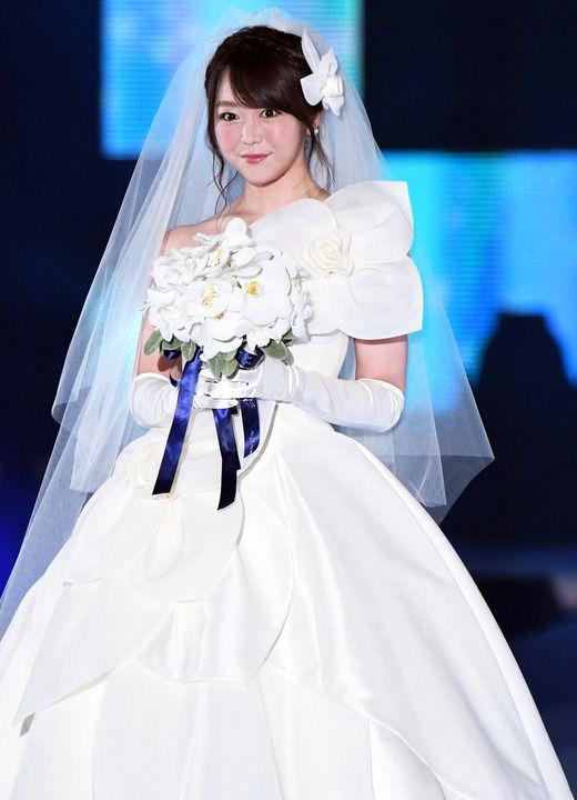 【ガルアワ】AKB48峯岸みなみさんがウェディングドレスで登場!!【動画あり】