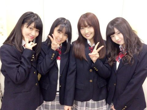 SKE48東李苑「8人いたオリメンももう4人。  時が経つのは早いなぁ…」