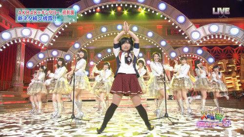 【音楽の日】SKE48松井珠理奈代役でキンタローセンター決定か?【AKB48】