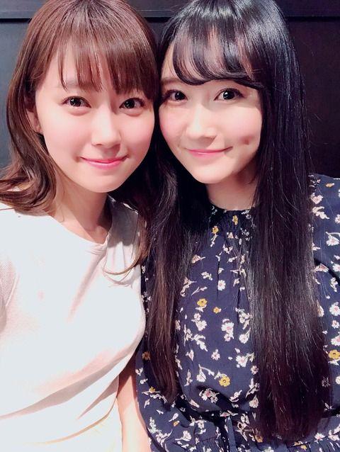 【元NMB48】ふぅちゃんがみるきーと再会【矢倉楓子・渡辺美優紀】