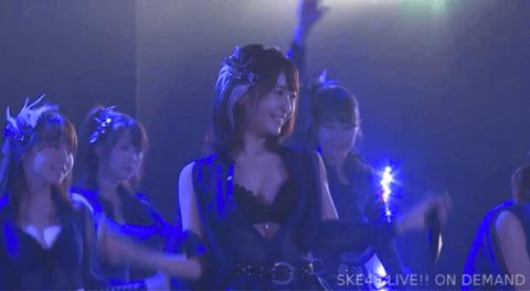 SKE48惣田紗莉渚のおもちが揺れ…てる?