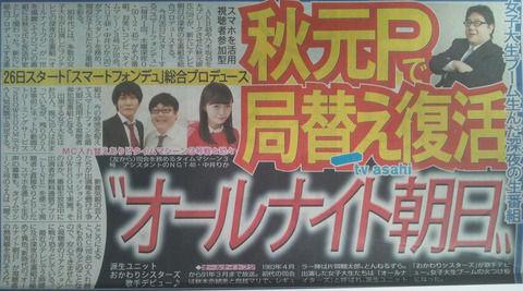 【NGT48】中井りか、今月26日スタートの「スマートフォンデュ」アシスタントに決定!