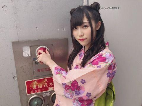 SKE48野々垣美希さん、新しいフォトスポット見つける…