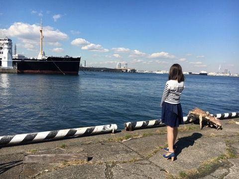 SKE48鎌田菜月の後姿がお美しいが…