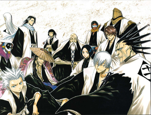 Bleach_captains