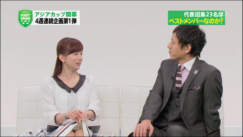 【衝撃お宝】人気女子アナ皆藤愛子ちゃんがアナウンサー業界で生き残る為にパンチラを披露しているエロ画像