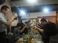 ④乾杯の瞬