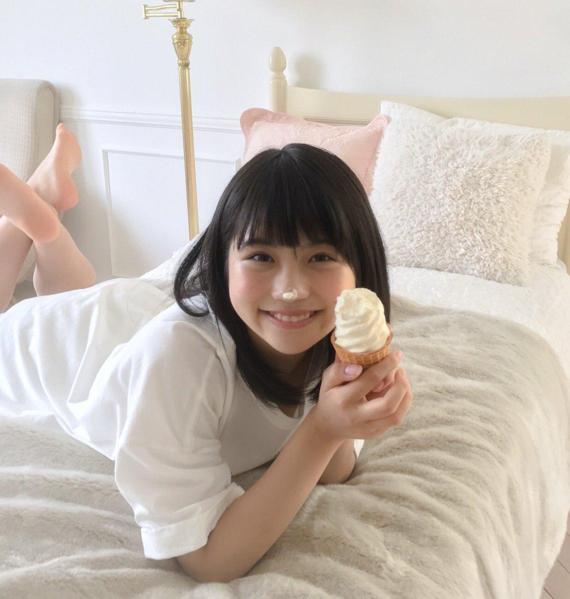 小畑優奈ソフトクリーム
