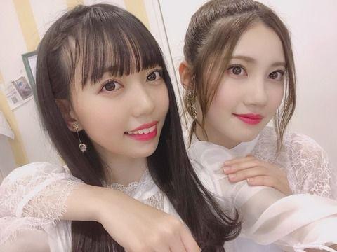 SKE48北川綾巴さん、歌唱力No1優勝の野島樺乃に雑コラする…www