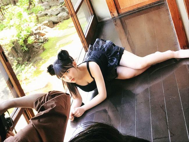【HKT48】なんで田中みくりんは雑誌に載った写真よりもエロいオフショットを送ってくるの?見せたがり?【田中美久】