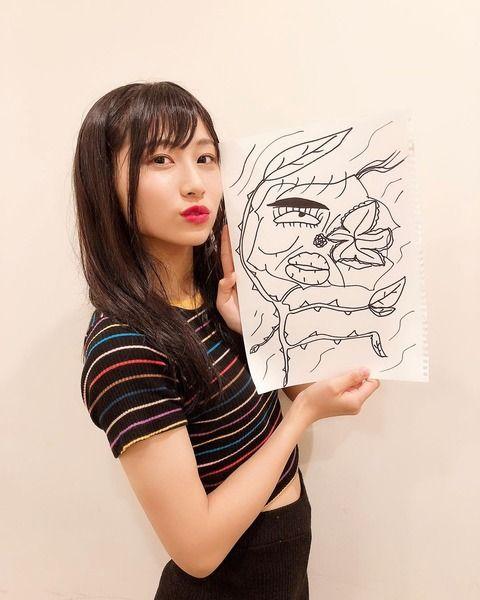 【SKE48】北川愛乃画伯の新作のメンバー似顔絵キタ━━━━(゚∀゚)━━━━!!