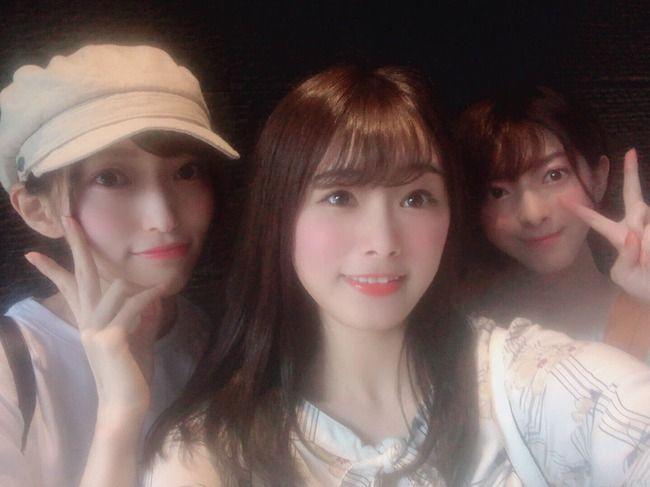 【朗報】 元NGT48山口真帆、菅原りこ、長谷川玲奈がついに再会!!!