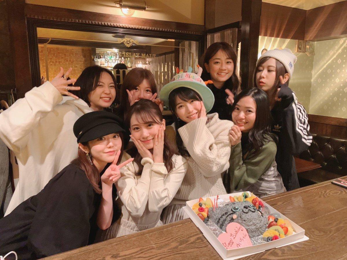横山由依の誕生会に島田晴香キタ──ヽ('∀')ノ──!