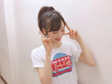 小栗有以ちゃん「AKB48を守るのは今いる私達だから私達で歴史あるAKB48を守っていきたいと思いました」