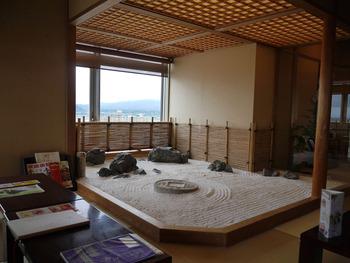 待合室日本的庭園