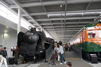 蒸気機関車 快速電車
